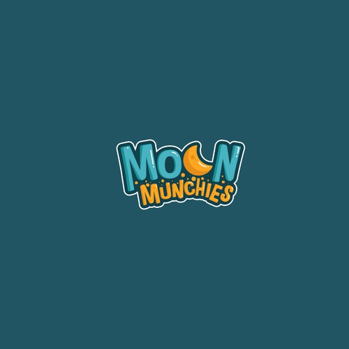 Fancy Logo for Moon Munchies