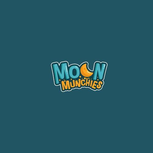 Fancy Logo for Moon Munchies