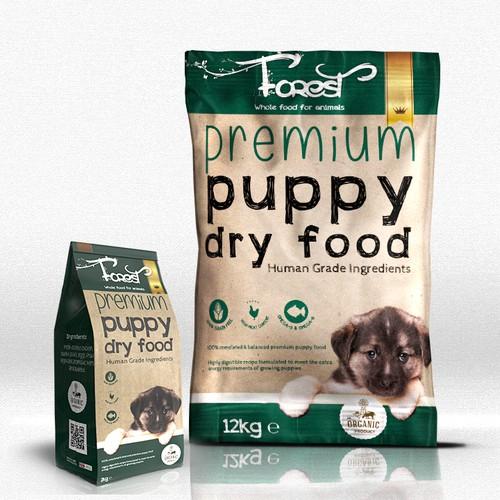 Premium Puppy food