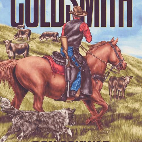 Original book cover for western author