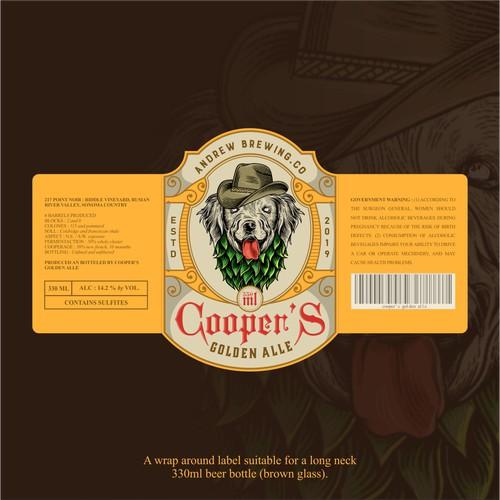 Design a beer label