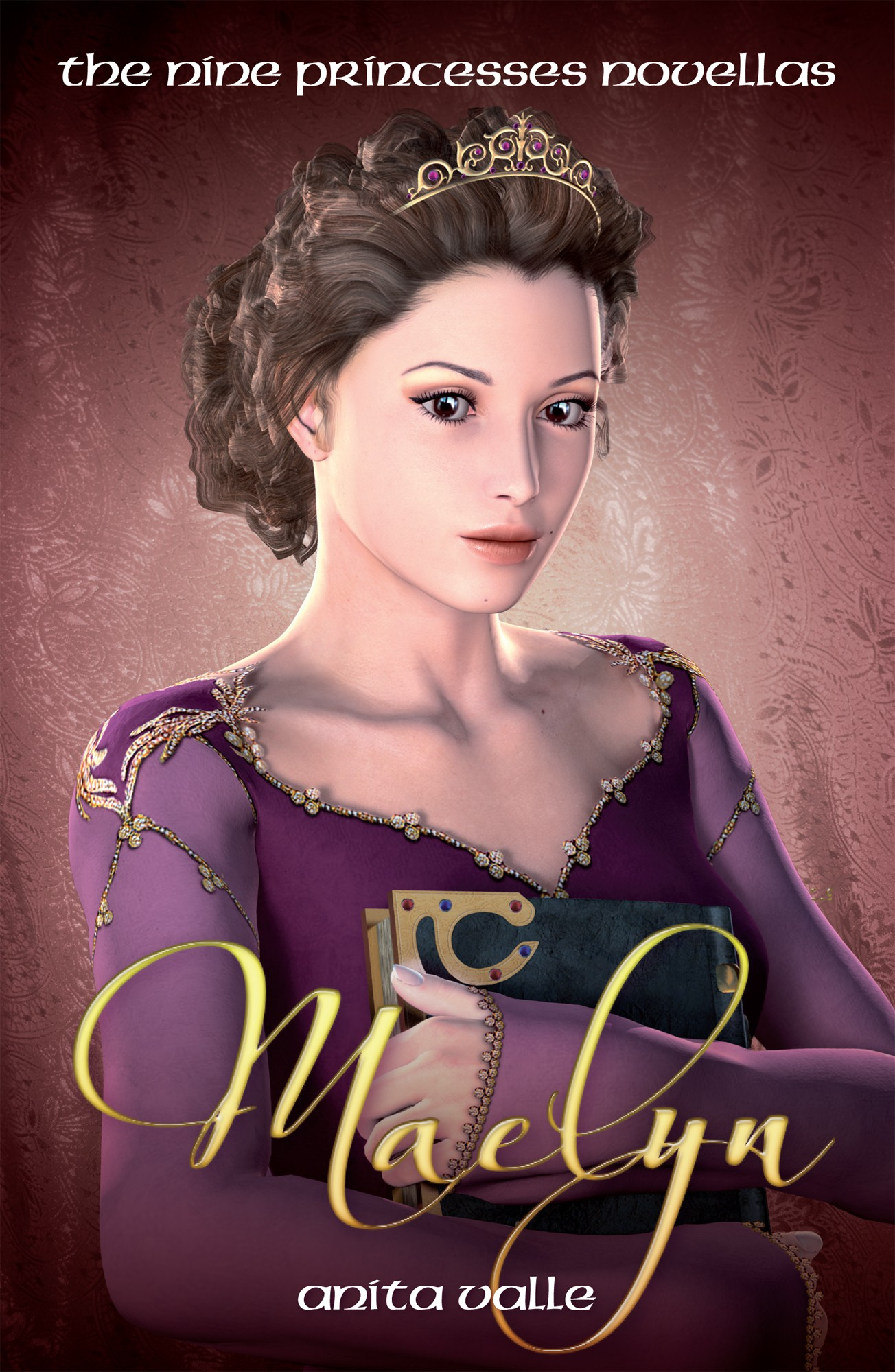Design a cover for a Young-Adult novella featuring a Princess.