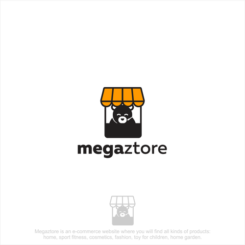 Logo for megaztore