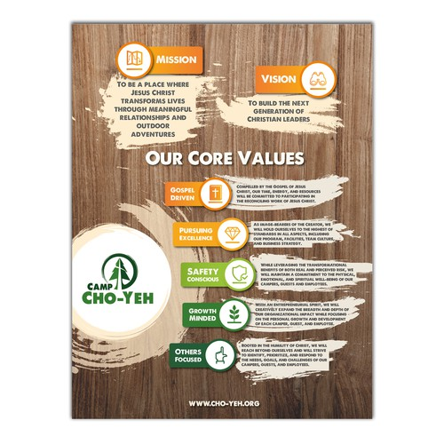 Summer Camp Core Values