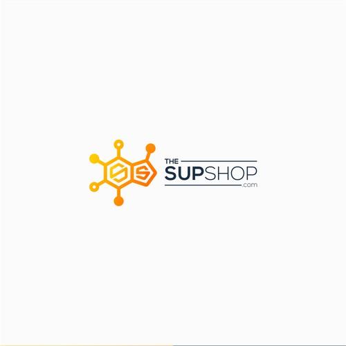 Playful and professional logo design for TheSupShop.com