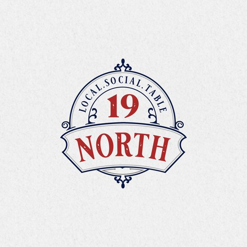 Logotype concept for 19 Nort