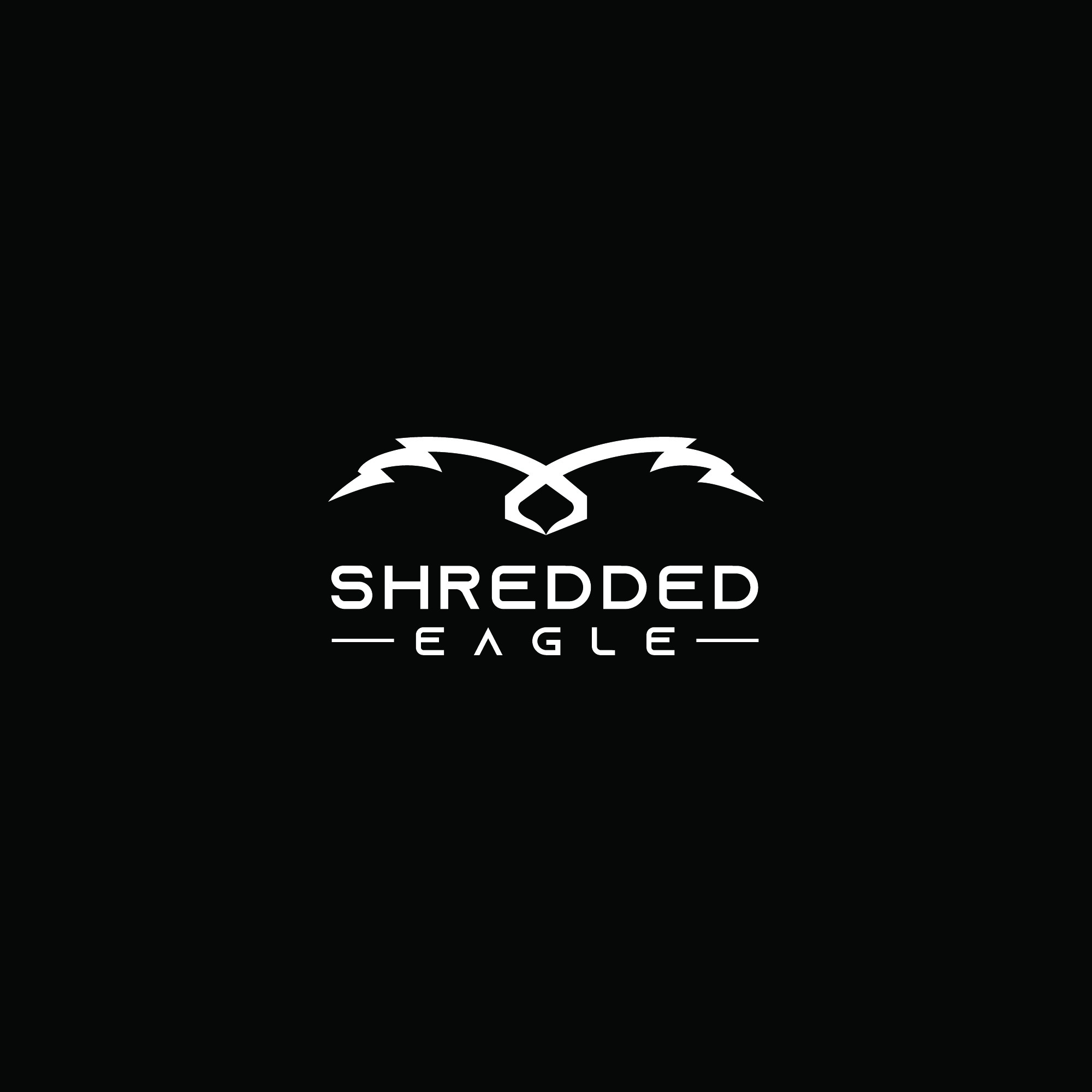 Shredded Eagle Logo to Appeal to Men and Women