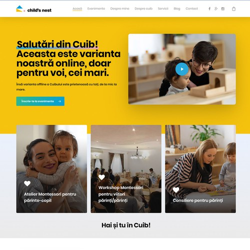 Webdesign based on Wordpress Template