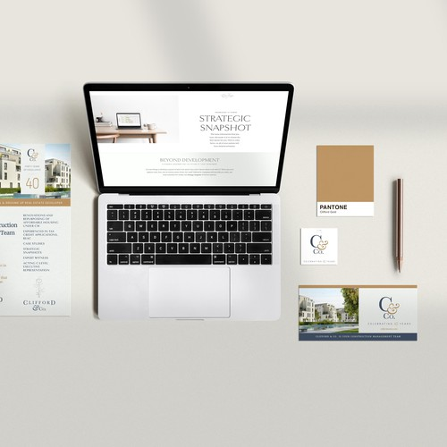 Clifford & Co. Full Brand/Website Design and Ongoing Marketing