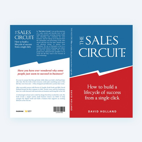 Book Cover design for sales book