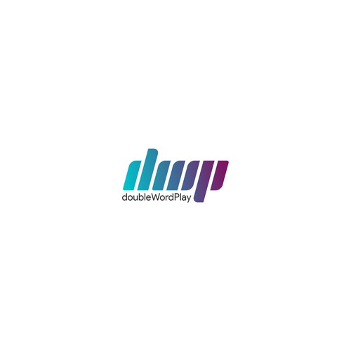 doubleWordPlay or dWp logo design