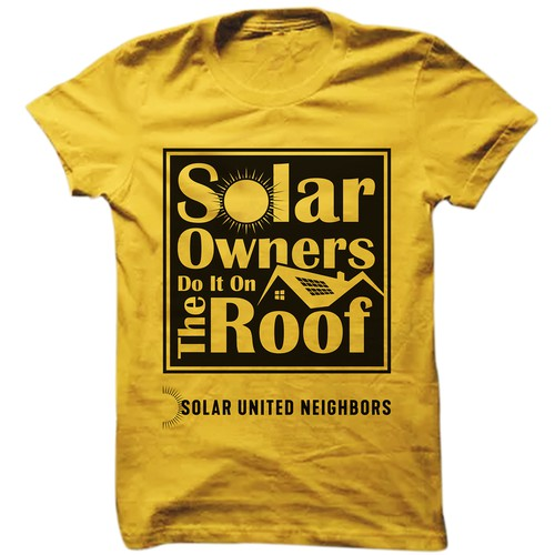 """Solar Owners Do It On The Roof"""
