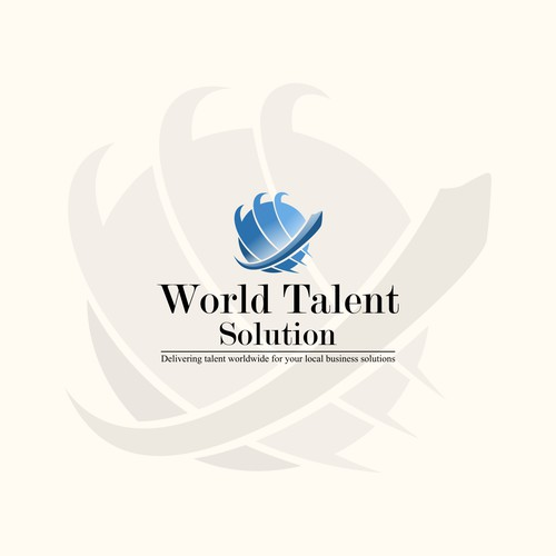 Logo concept for World Talent Solution