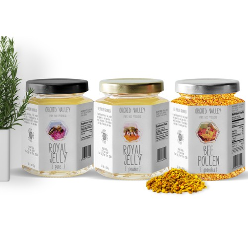 Design an All-Natural Label for Orchid Valley