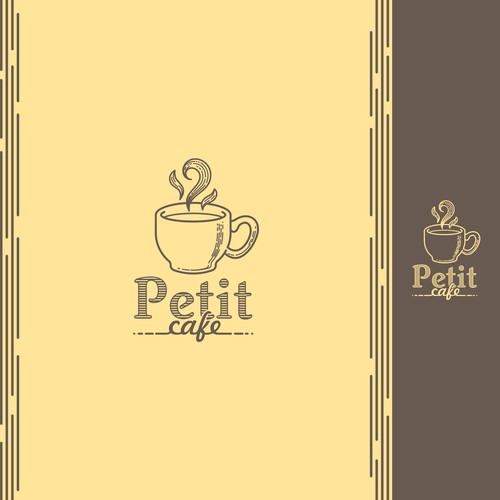 Logo for a cafe