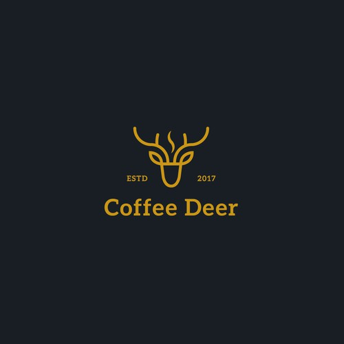 logo concept for Coffee Deer