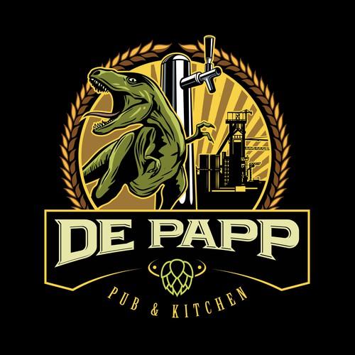De Papp Pub Logo