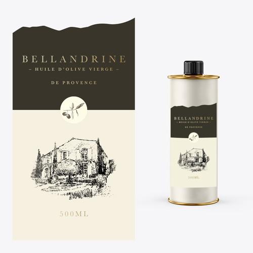 Packaging for Provencal Olive Oil