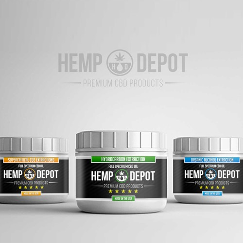 hemp Depot Packaging