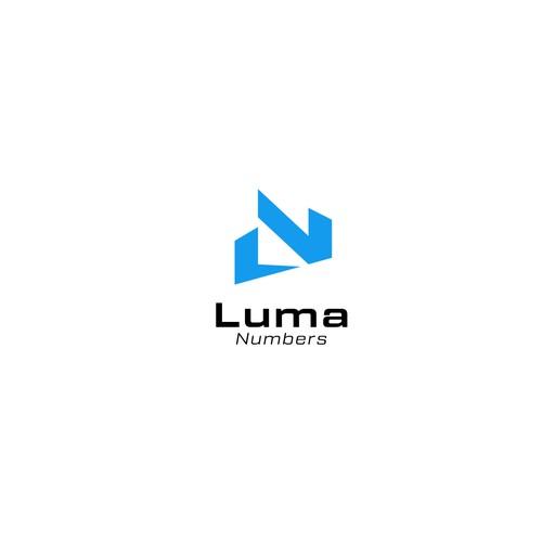 Luma Numbers Logo