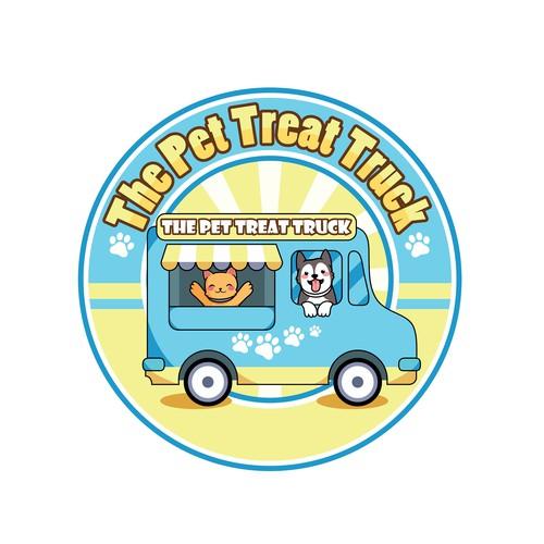 Logo design for The Pet Treat Truck