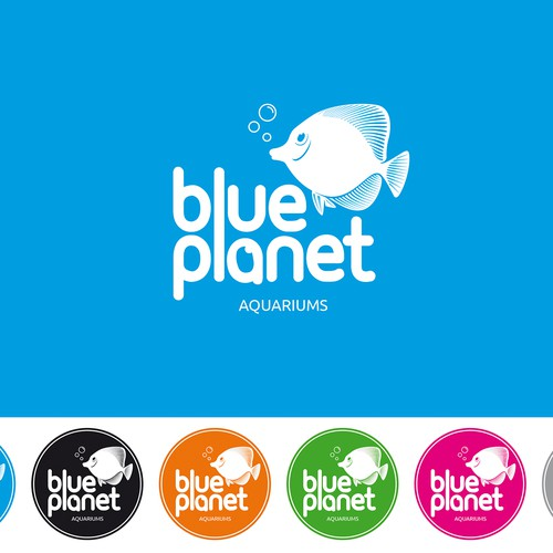 Logo blueplanet AQUARIUMS