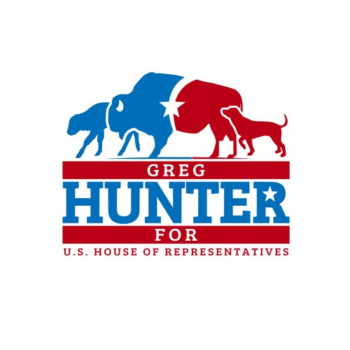 Political logo for Congressional candidate