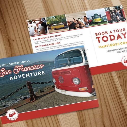 Vantigo Promotional Post Card