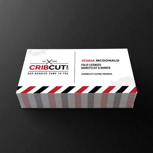 Business Card Design for CribCut.com