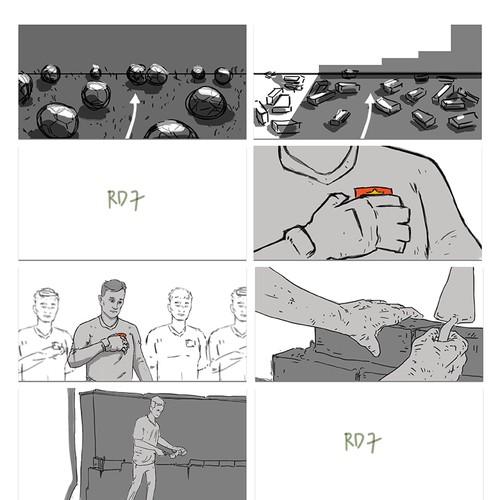 Clearmen Advertising Storyboard