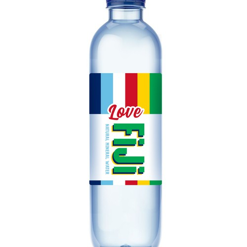 Label design for natural mineral water