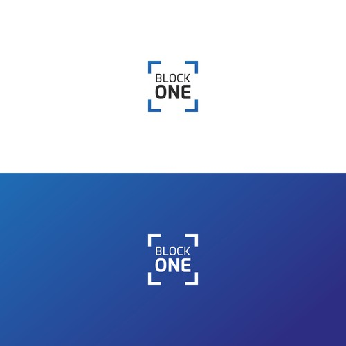 Block One Minimal Logo