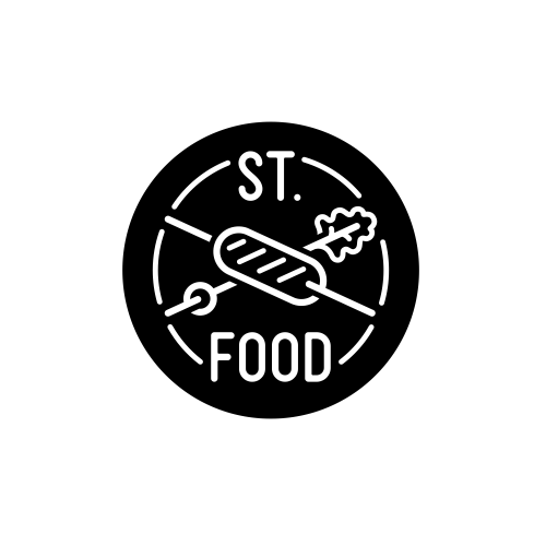 Logo for St. Food company