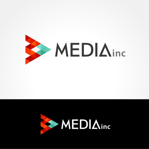 Simple Logo for Media Company