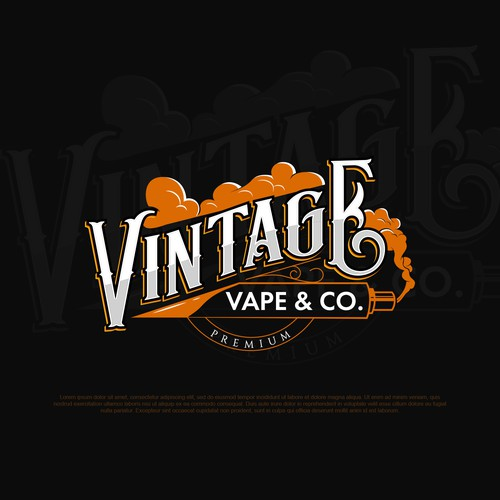 Logo concept for a vape company