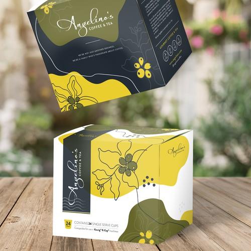Coffee Roastery Box Packaging Design