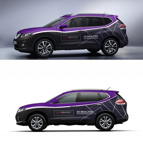 Nissan wrap for Dinography