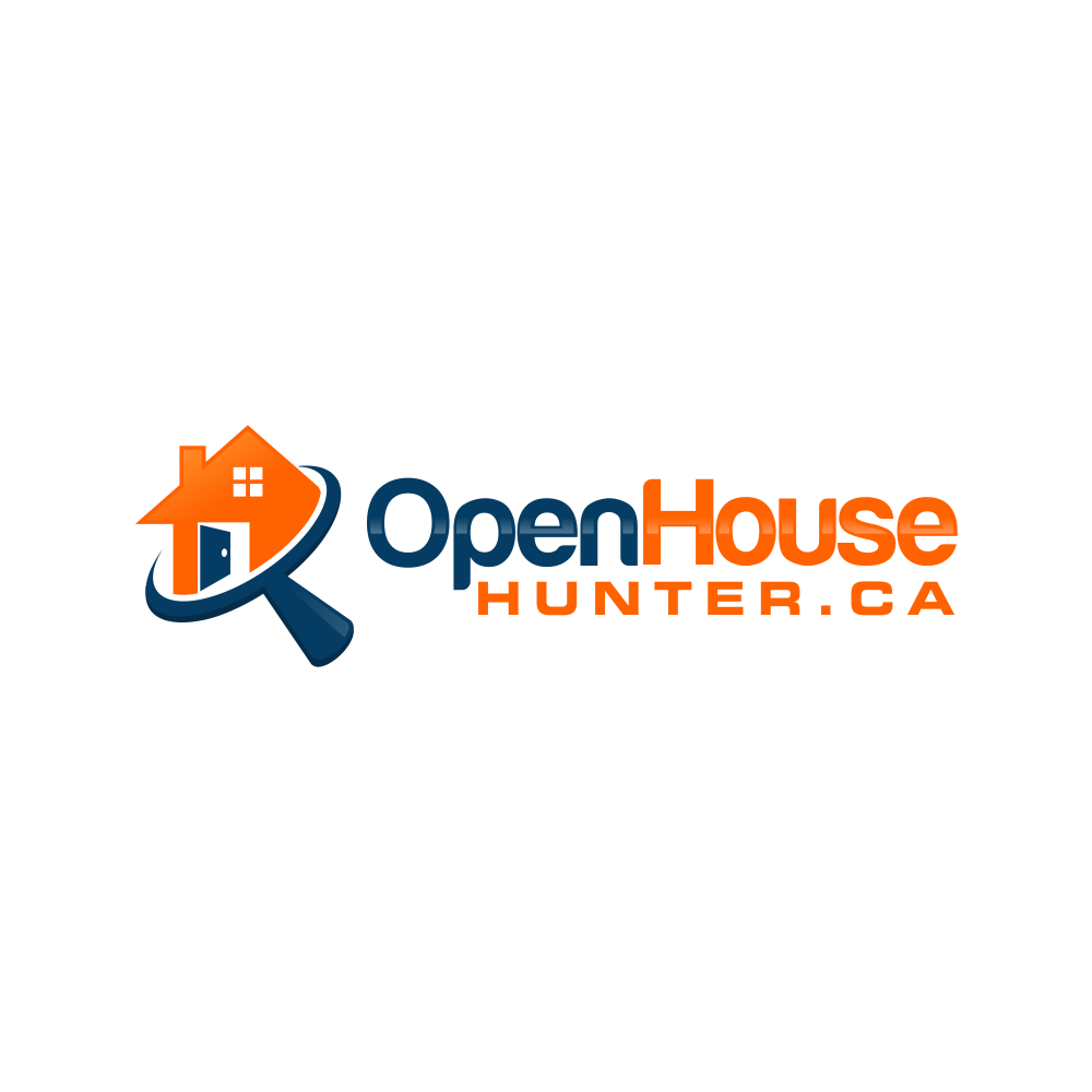 Create a creative logo for a website that is design to map out local open houses