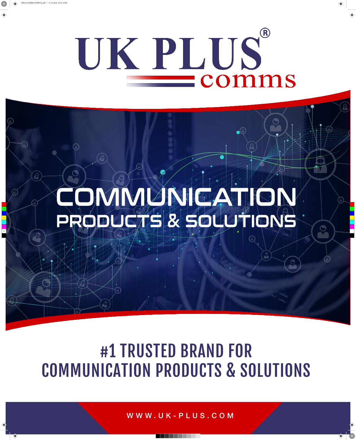 Professional looking Posters for Two extended brands of UKPLUS
