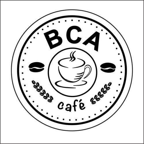 BCA Black and White Logo
