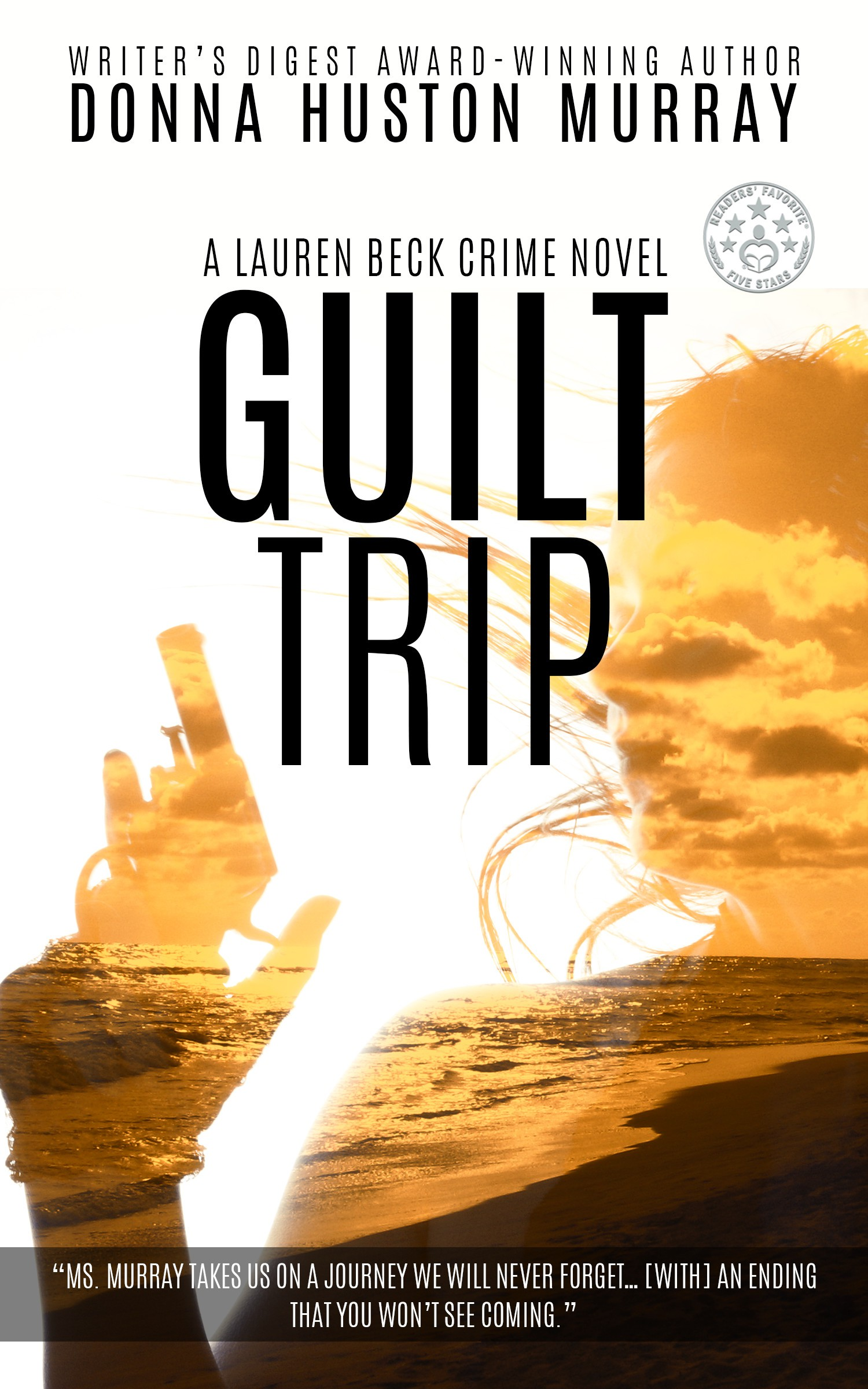 New cover for 5* mystery GUILT TRIP