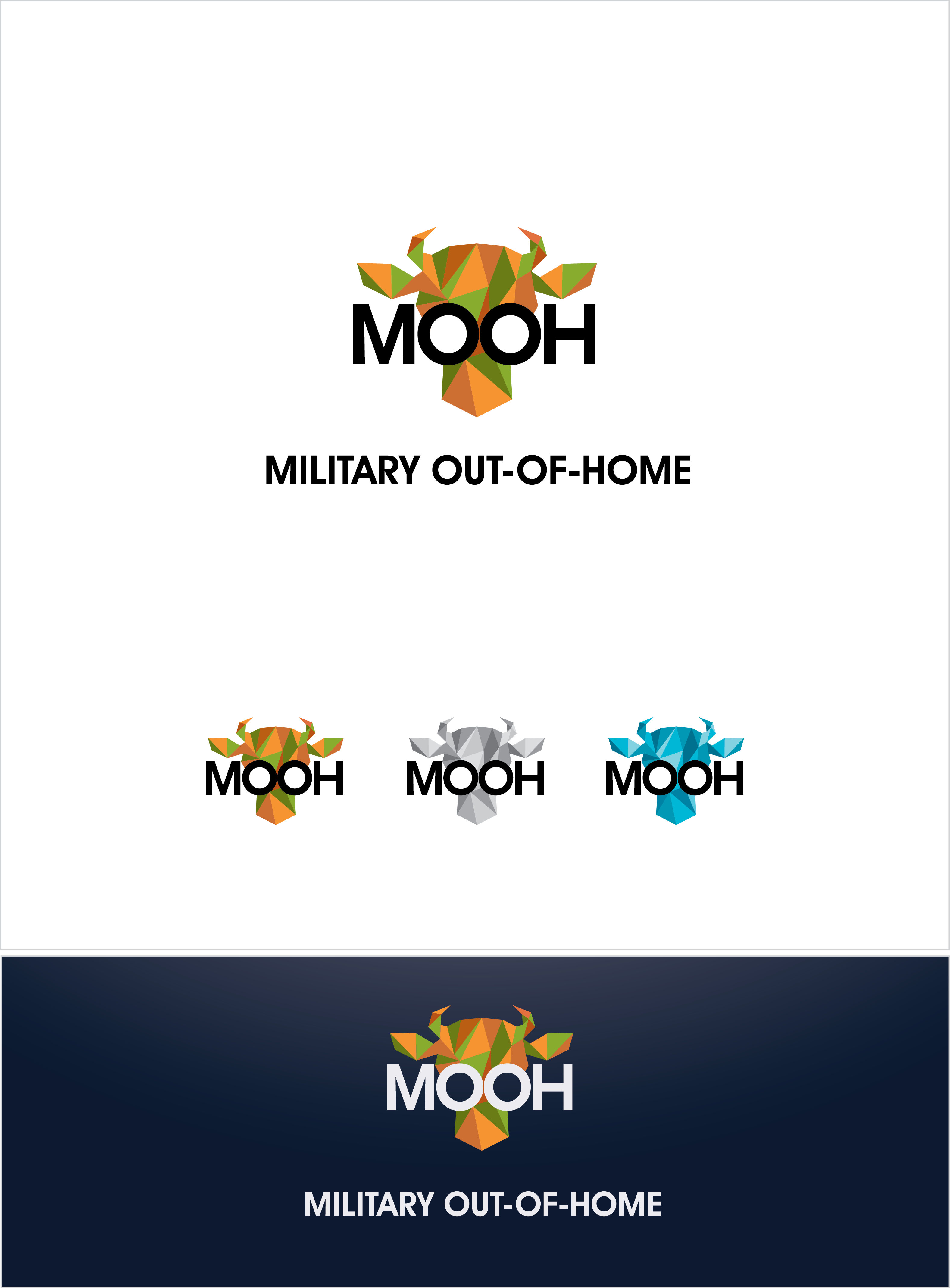 Updated Brief to create a playful brand identity package for Military Out-of-Home.
