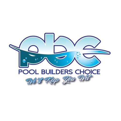 pool builders logo