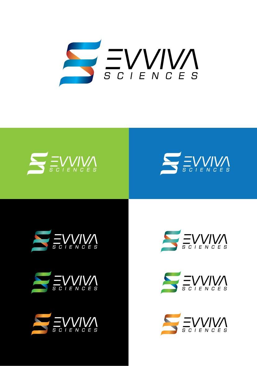 Create a capturing logo for Evviva Sciences!