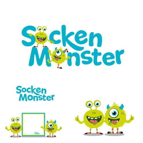socken monster