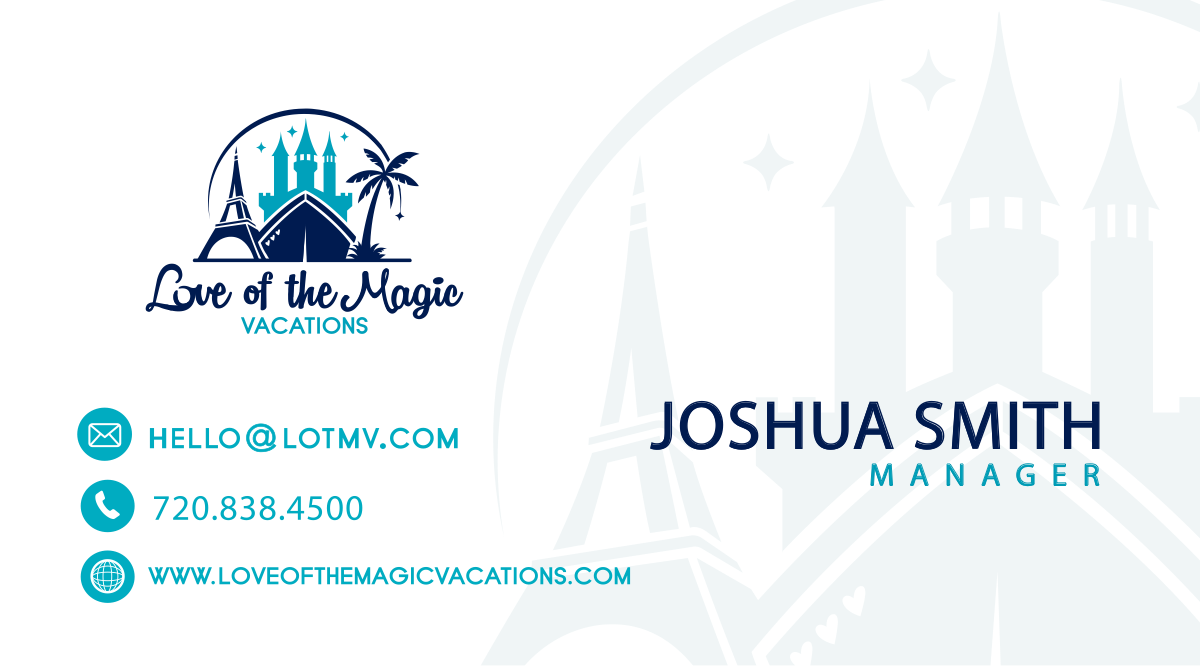 Business card to go with logo