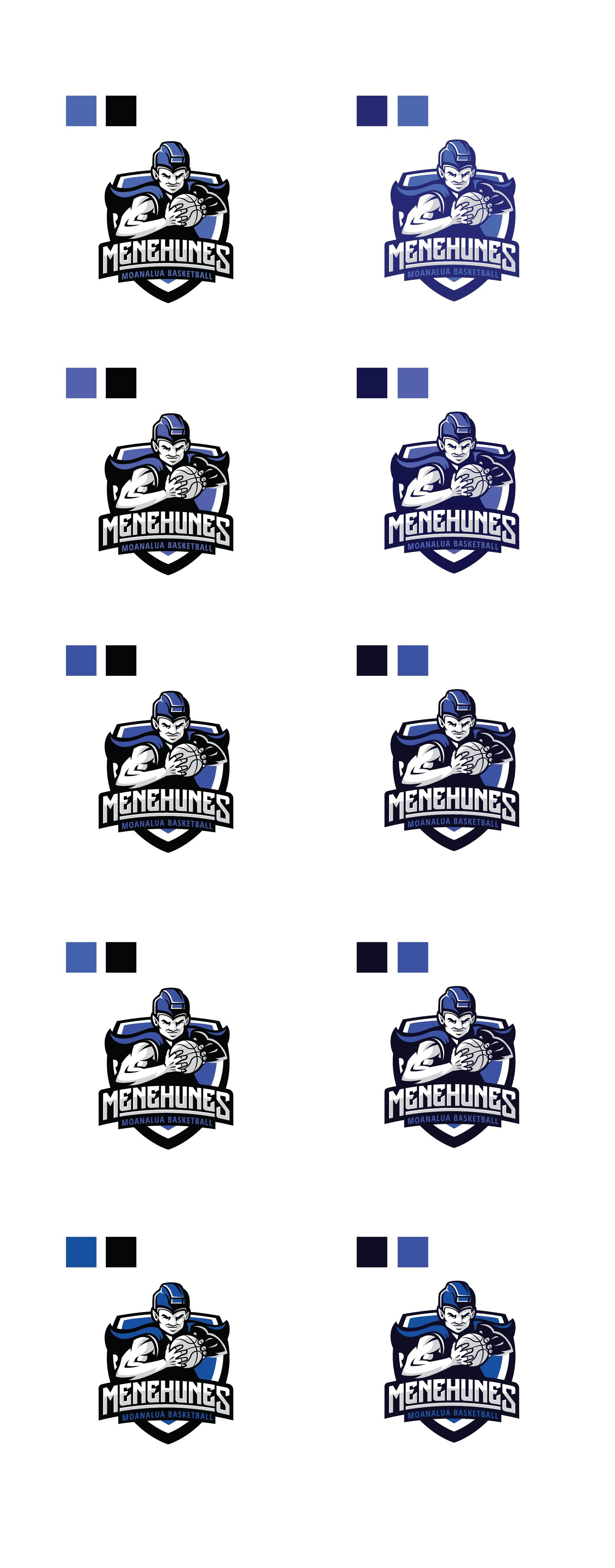 Moanalua Basketball Logo - AWARD INCREASED