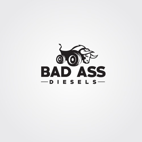 create a branding and trademark for BAD ASS Diesels. When looking at the logo we want people to know it is bad ass!