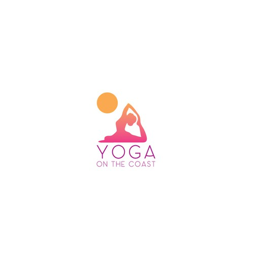 Logo concept for Yoga instruction