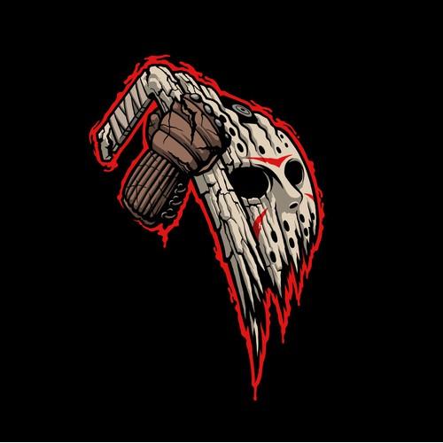Halloween / Friday the 13th Inspired Hockey Team Logo